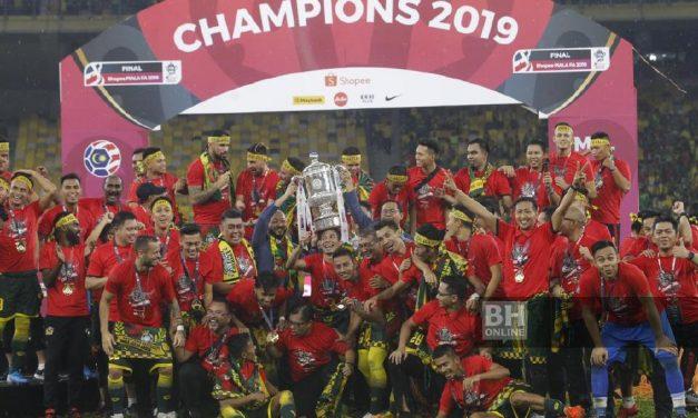 Bekas Pelajar SK Kuala Perlis Julang Piala FA