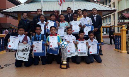 SKKPs Juarai Bola Sepak Bank Rakyat 1M1S